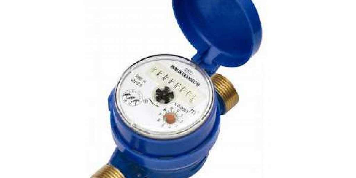 Water flow rate meter